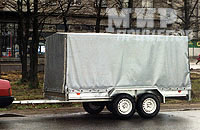 Прицеп ЛАВ 81013, 2-х осный прицеп, рессорная подвеска на 1200 кг