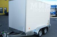 Европрицеп 71190N-31-Ф, 2-х осный фургон на рессорной подвеске с опускающимся задним бортом-пандусом