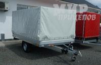 Европрицеп 7119А5-32 с тормозом наката на 1500 кг