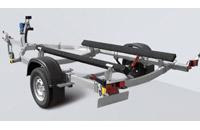 Прицеп МЗСА 81771G.011 для перевозки лодок и катеров на рессорной подвеске с повышенной грузоподъемностью