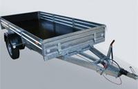 Прицеп МЗСА 831133.201 для перевозки грузов, квадроциклов и снегоходов на 1300 кг