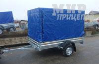Прицеп МЗСА 817703.012 рессорная подвеска