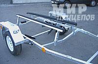 Прицеп ЛАВ 81015 с ложементами на рессорной подвеске