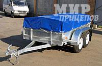 Прицеп МЗСА 817730.012 2-х осный с низким тентом на 1200 кг