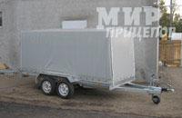 Прицеп ЛАВ 81022 на рессорной подвеске на 1700 кг