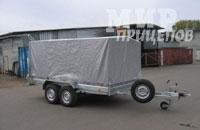 Прицеп ЛАВ-81022А на рессорной подвеске на 2700 кг