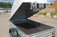 Прицеп МЗСА 817701.012 с пластиковой крышкой высокой и низкой
