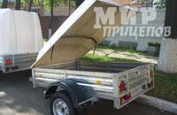 Прицеп МЗСА 817710.012 с низким тентом или крышкой