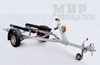 Прицеп МЗСА 81771В.101 для перевозки гидроциклов и лодок на рессорной подвеске