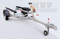 Прицеп МЗСА 81771С.101 для перевозки лодок и катеров на рессорной подвеске