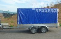 Прицеп МЗСА 817731.012 на рессорной подвеске на 1200 кг
