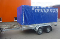 Прицеп МЗСА 817732.012 на рессорной подвеске на 1200 кг